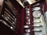 Plated Silver Flatware set