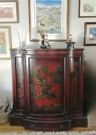 Antique carved Chinese chest