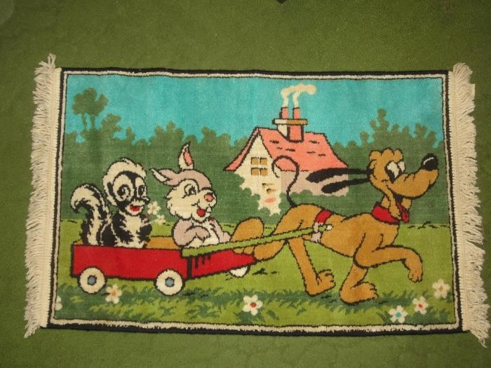 Disney rug, made in Belgium