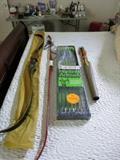 """Vintage Ben Pearson Rogue 7058 Recurve Bow 58"""", Vintage Stemmler Archery Bow, Vintage Ben Pearson Hunting Arrows, Vintage Quiver With Arrows."""