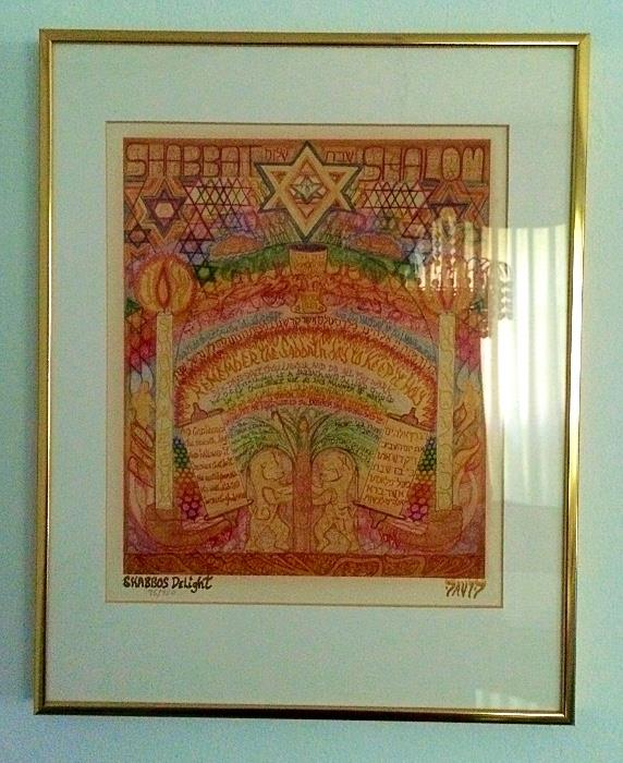 Shabbos Delight by Bruce David (Signed Limited)