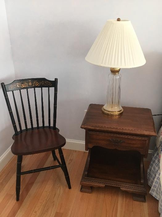 Pair of Hitchcock chairs. Excellent condition.