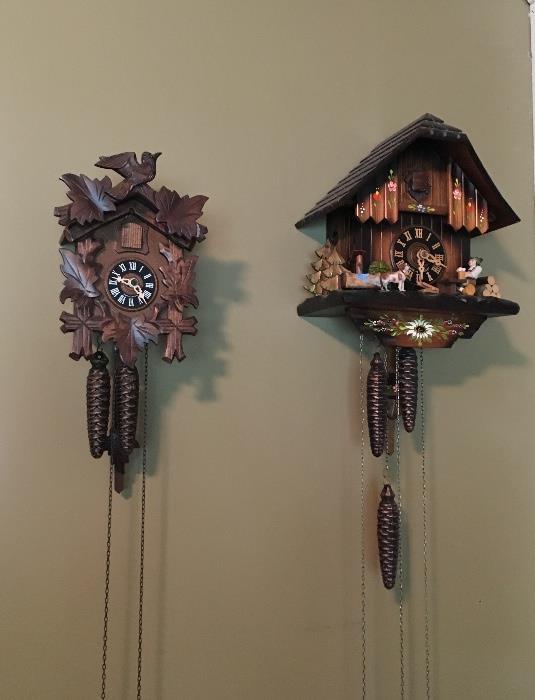 German clocks
