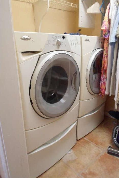 front loading washer & dryer
