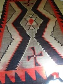 "Navaho American Mid - Western 100"" X 65"""