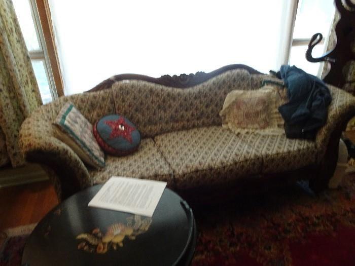 """Victorian Sofa 84""""L X  34"""" H X 28""""W"""