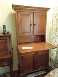 """Pine Drop Front Cabinet - 31""""W X 15""""D X 60""""H"""