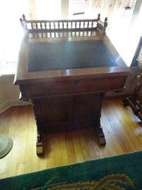 "Captains Desk with Galley Top - 24""W X 23""D X 36""H"
