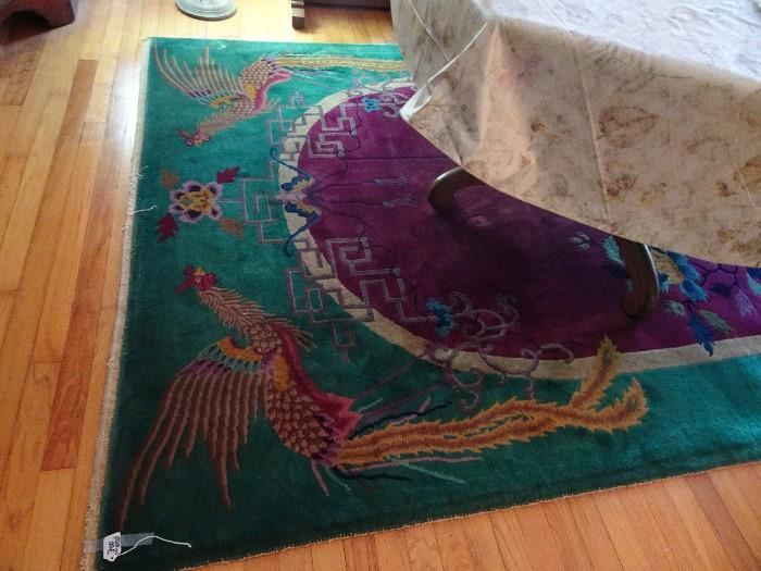 """Chinese Carpet 6"""" X 9"""""""