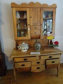 """Kitchen Hoiser Cabinet- 49""""W X  25""""D X 76""""W"""