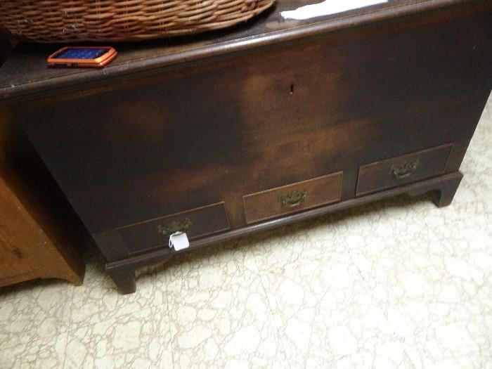 """Old Blanket Chest - 47""""W X  22""""D X  29""""H"""