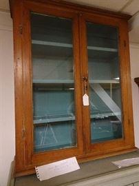 """Glass Door Cabinet - 31""""W X 37""""H X 9""""D"""