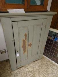 """Primitive Painted Cabinet - 33""""W X 14""""D X  44""""H"""