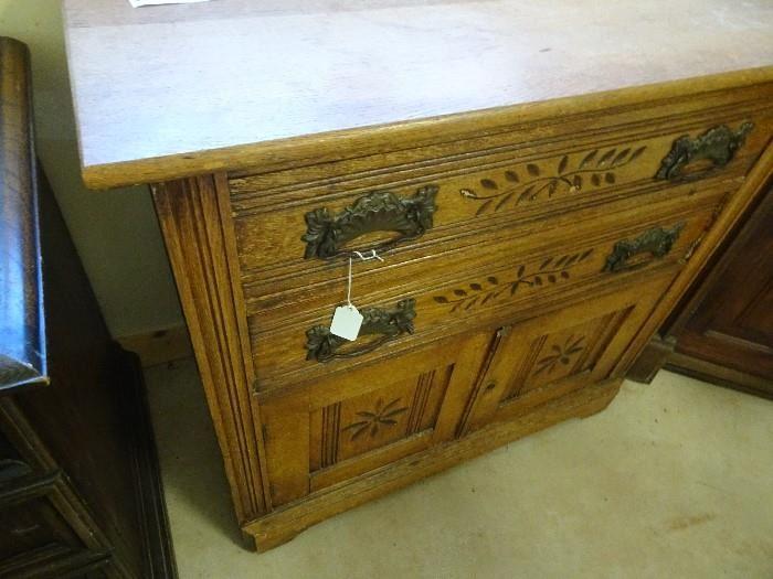 """Nice Oak Cabinet - 31""""w X 16""""d x 29""""H"""