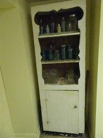 """Primitive Cabinet - 24"""" W X 11""""D X 68""""H"""