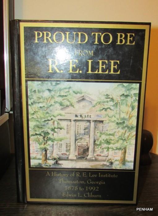 R.E. Lee High School book by Edward Cliburn