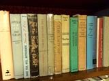 Books galore, especially local history, such as plantation homes