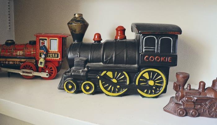 McCoy train cookie jar