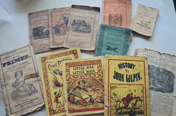 Children's books early 1800s