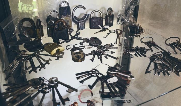 Skeleton Keys, antique locks