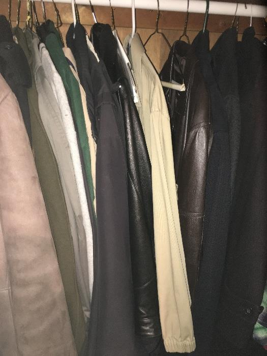 Men's clothing & outer ware