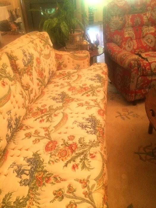 One of several sofas
