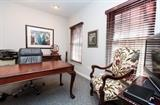 Elegant office furniture, classic styling with Antique Arm Chair accent