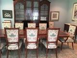 Custom Chairs - 12 (2 armchairs) custom upholstered