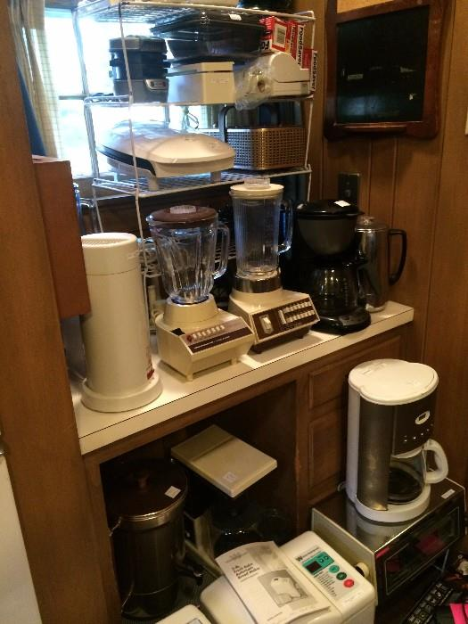Great selection of small appliances