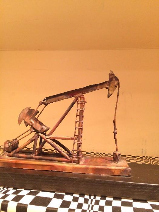 Copper oil pump