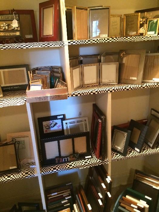 Huge amount of frames