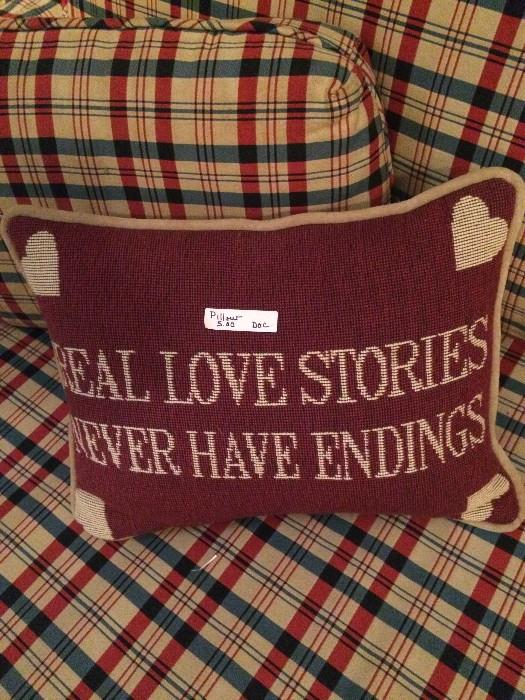 This pillow says it all !