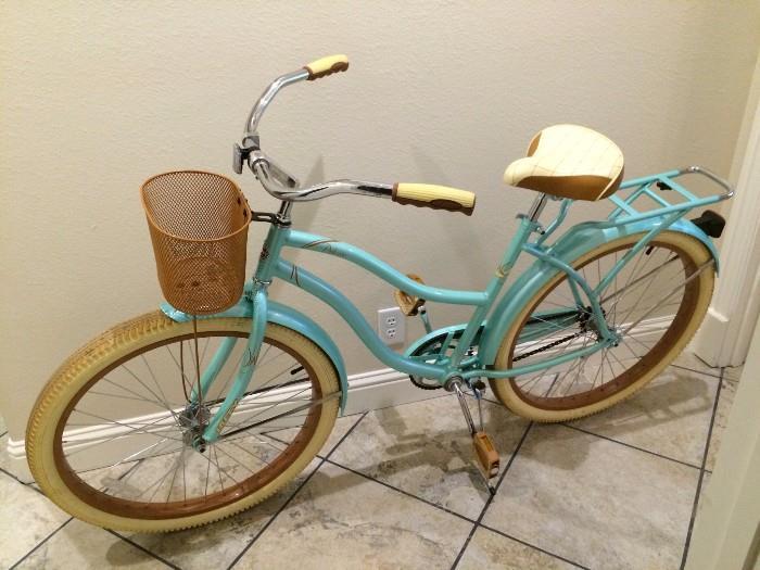 Like-new girl's bicycle