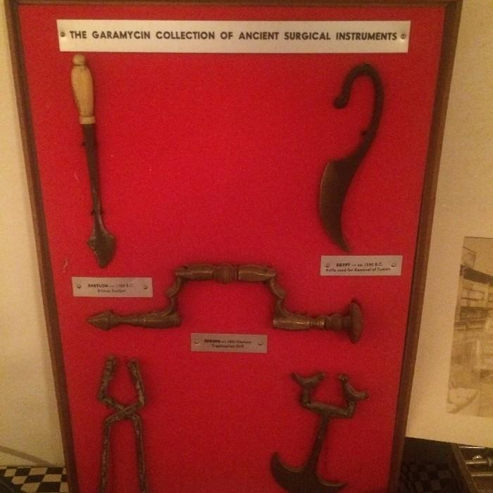 The Garamycin Collection of Ancient Surgical Instruments