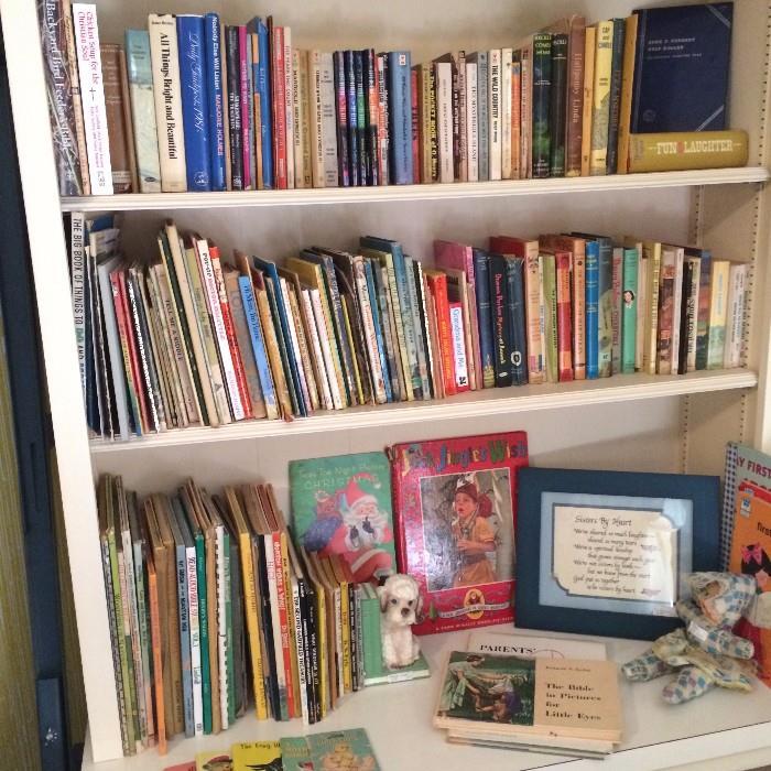 An abundance of children's books