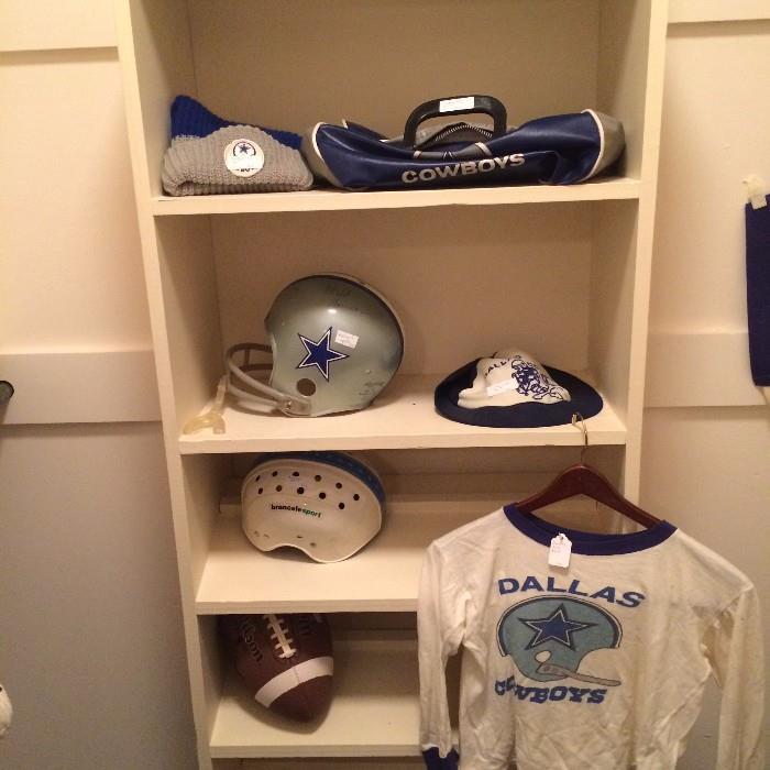 Dallas Cowboys memorabilia