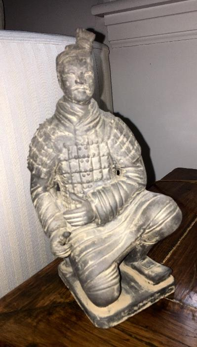 Terra Cotta Warrior, vintage of course