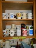 Coffee cups - various sizes and kinds.