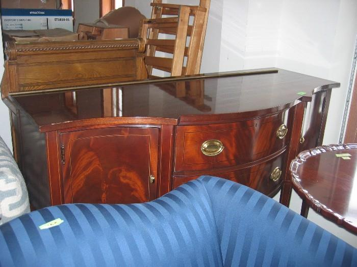 Small buffet; great for a not-so-big dining room