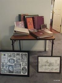 Plenty of photo albums....get those loose photos out of the shoe boxes!