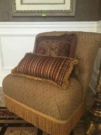 Serpentine chair, original cost $1800.00, asking $400.00.