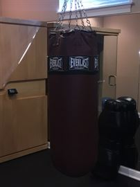Everlast heavy bag, 150lbs asking $200.  Barely used, no marks.  Cost was $575.