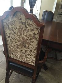 Gorgeous Bon Appetite distressed dining set only a few years old, in pristine condition! Six regular and two arm chairs.  Original purchase price $9,900.  Asking $3,000.00.