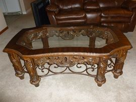 Gorgeous ornate coffee table