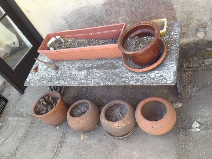 Early American Clay pots