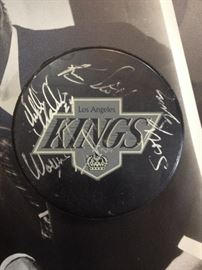 Wayne Gretzky kings, sports memobilia