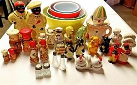 Vintage S and P sets kitchenware galore