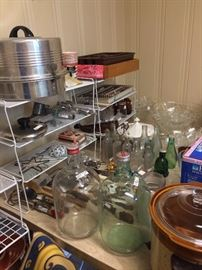 "Kitchen items from the '40's & 50""s"