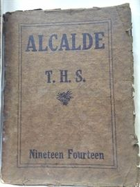 "1914 Tyler High School yearbook ""Alcalde"""