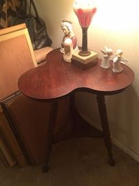 "Antique ""clover"" table"
